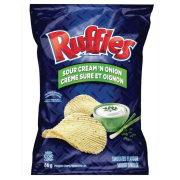 Ruffles Sour Cream and Onion Chips