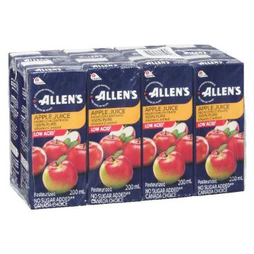 Allen Apple Juice Box
