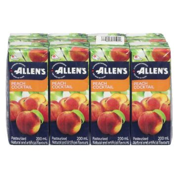 Allen Peach Juice Box
