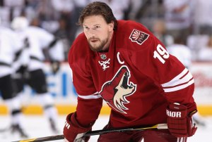 Shane Doan is a rarity these days, considering how long he has been with one franchise. (Getty Images)