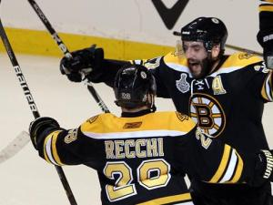 Patrice Bergeron is the current definition of what it means to be a Bruin and what it means to be part of Boston sports lore. (Getty Images)