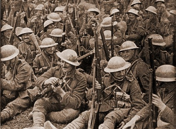 Battle of the Somme: Troops
