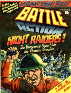 Battle: First Charley's War Cover