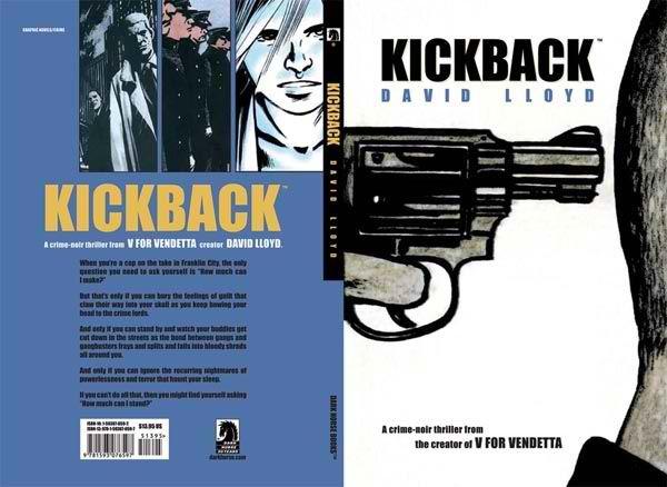 Kickback Cover - Dark Horse