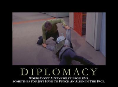 Inspirational Star Trek posters - Diplomacy