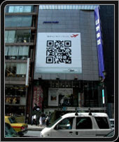 QR Codes - big in Japan - sometimes literally!