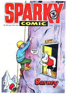 Sparky - Cover Date 15th June 1974