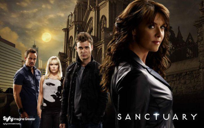 Sanctuary starring Amanda Tapping