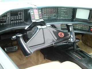 Original Knight Rider - KITT Interior