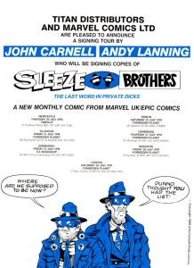 Sleeze Brothers - Forbidden Planet Signing Tour.Image: Forbidden Planet