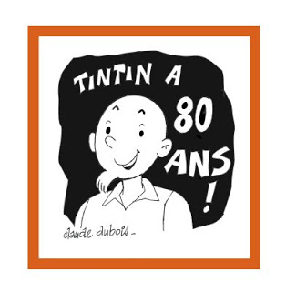Tintin at 80 by Claude Dubois