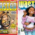 The preview edition and first issue of Wasted #1 - cover by Frank Quitely