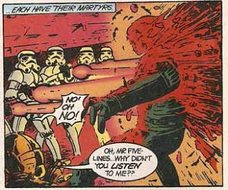 Star Wars - Alan Moore Strip Panel