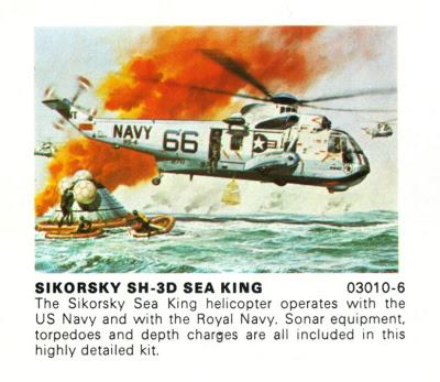 Airfix Sea King 66