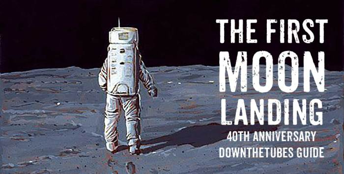 The First Moon Landing - A downthetubes 40th Anniversary Guide in British comics and related art