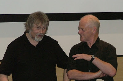 Artist Keith Robson and former Starblazer editor Bill McLoughlin