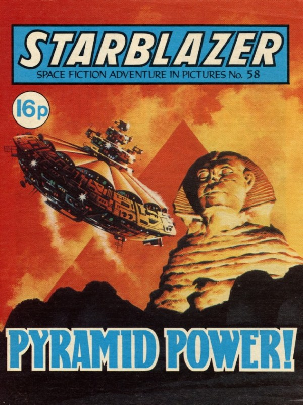 Starblazer 58 - Cover by Ian Kennedy