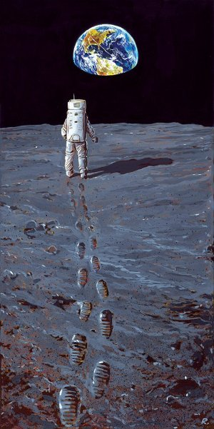 Graeme Neil Reid: Walking on the Moon