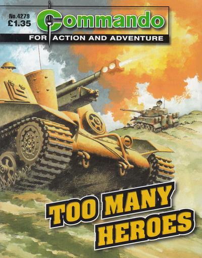 Commando 4279: Too Many Heroes