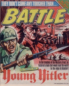 Battle - Cover dated 12th February 1983 - Young Hitler