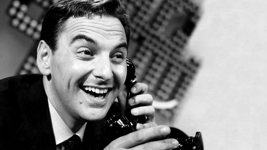 "A BBC promotional image for the documentary ""The Secret Life of Bob Monkhouse"""