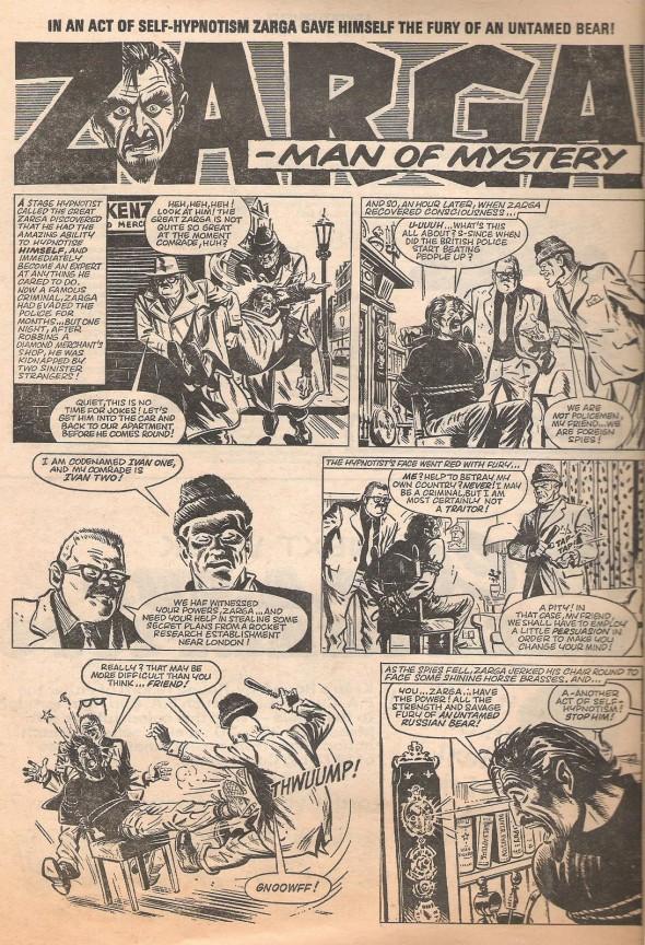 Zarga, Man of Mystery