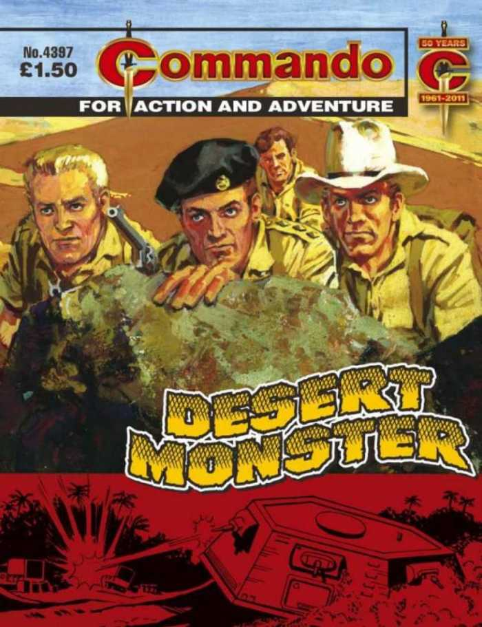 Commando No 4379: Desert Monster