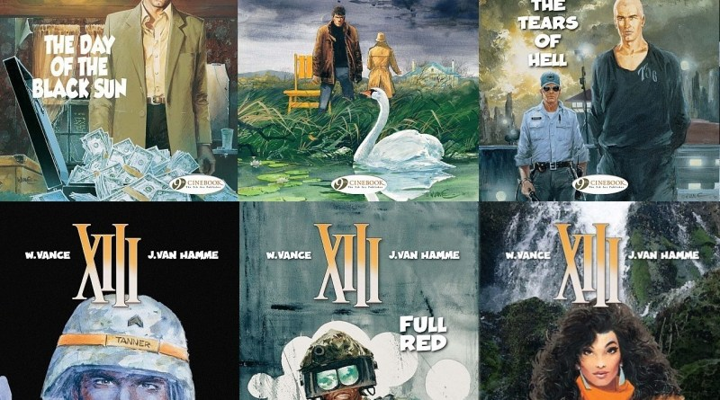 XIII Various Covers