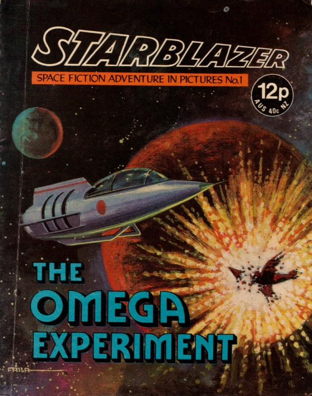 Starblazer Issue 1