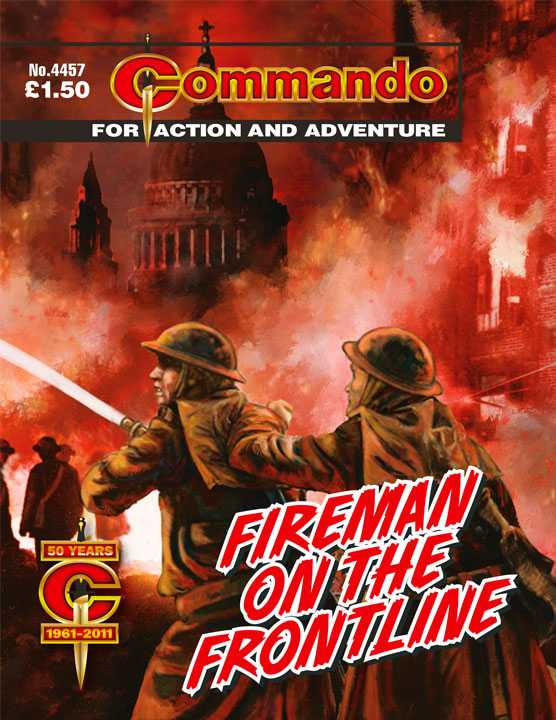 Commando 4457: Fireman On The Front Line