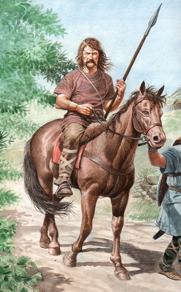 One of Mike White's many historical illustrations