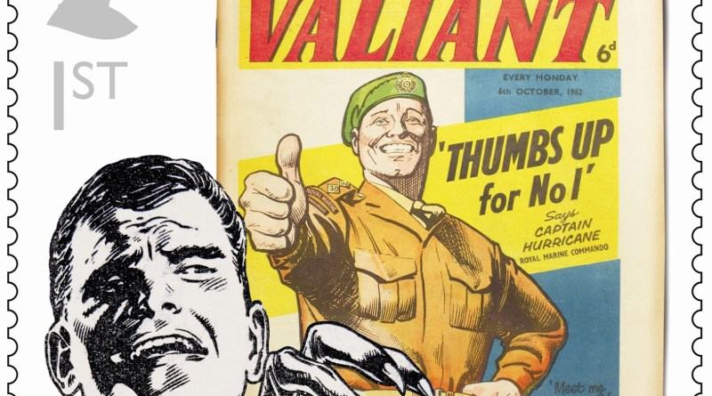 Royal Mail Comic Stamp - Valiant