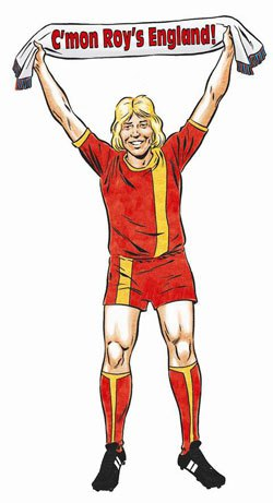Roy of the Rovers 2012 - Come on England art
