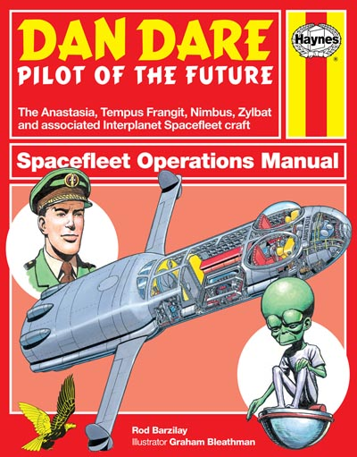 Dan Dare Spacefleet Operations Manual Promotional Cover only, subject to change