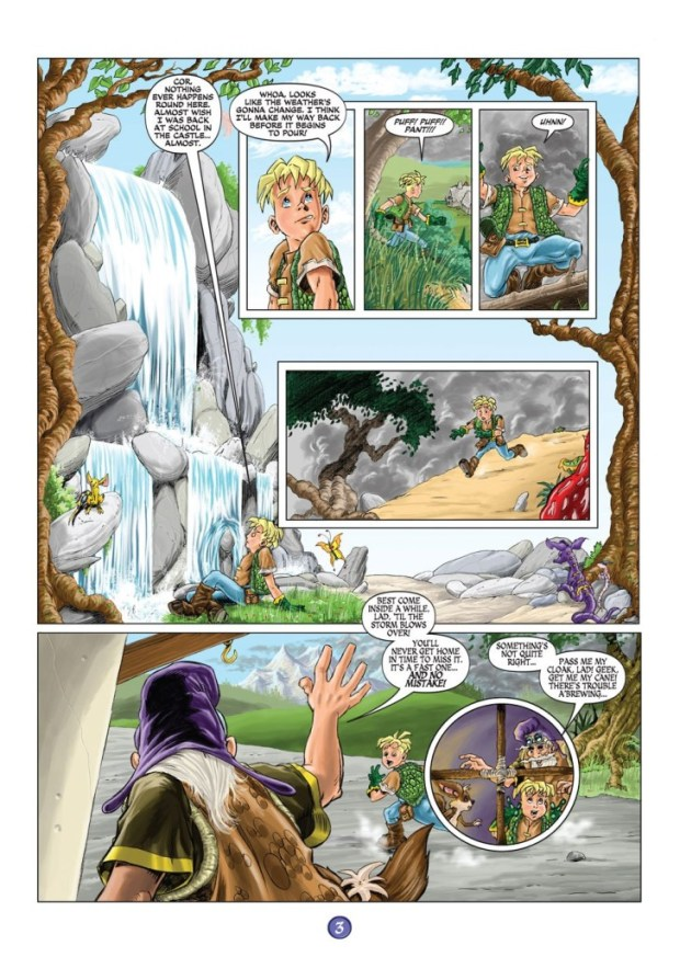 Worlds End Volume 1 Page 3