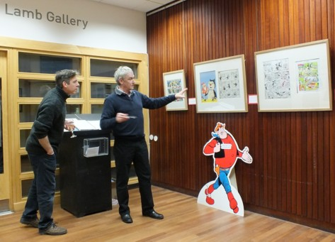 Morris Heggie gives an exhibition talk