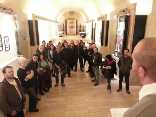 Guests are greeted for the 2012 Malta Comic Convention. Photo courtesy Malta Comic Con