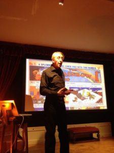 Bryan Talbot at the Lakes International Comic Art Festival launch