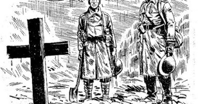 """Art from """"Charley's War"""", written by Pat Mills and drawn by Joe Colquhoun"""