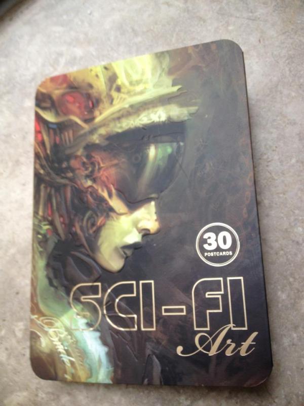 sci-fi-art-postcard-book