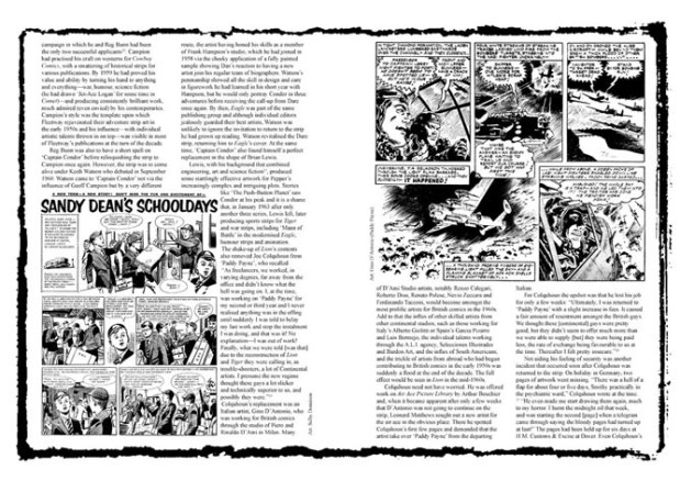 Lion, KIng of the Story Papers - Spread 2