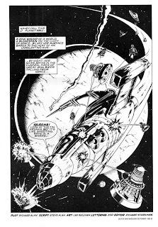 Nemesis of the Daleks - Sample Art