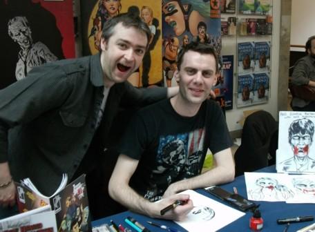 Uproar Comics Danny McLaughlin and Kevin Logue