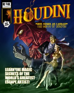 "ROK Comics digital audio comic title ""Houdini Adventures"""