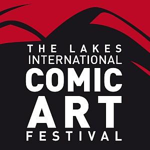 Lakes International Comic Art Festival logo
