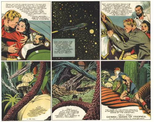 Sample page from The Complete Flash Gordon Volume 3: The Fall of Ming