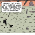 You're Just Jealous of my Jetpack by Tom Gauld