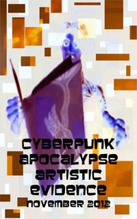 Cyberpunk Apocalypse Matchbook Comic