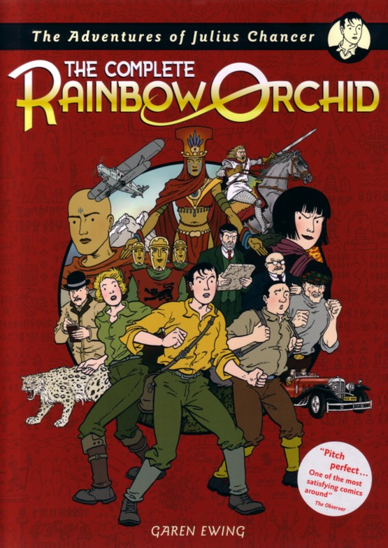 The Complete Rainbow Orchid - Cover