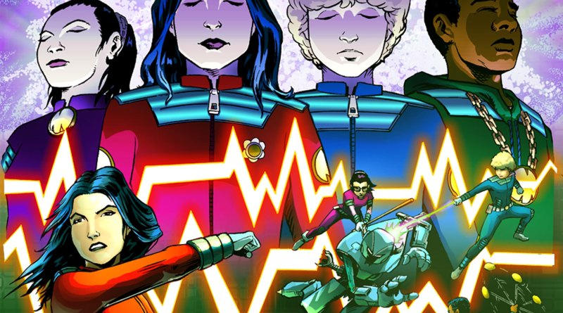 Team M.O.B.I.L.E. #1 audio comic